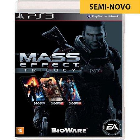 Jogo Mass Effect Trilogy - PS3 (Seminovo)