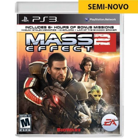 Jogo Mass Effect 2 - PS3 (Seminovo)