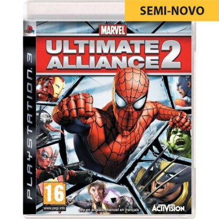 Jogo Marvel Ultimate Alliance 2 - PS3 (Seminovo)