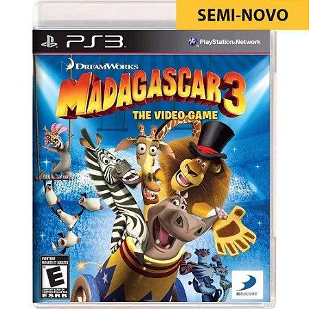 Jogo Madagascar 2 Escape Africa - PS3 (Seminovo)