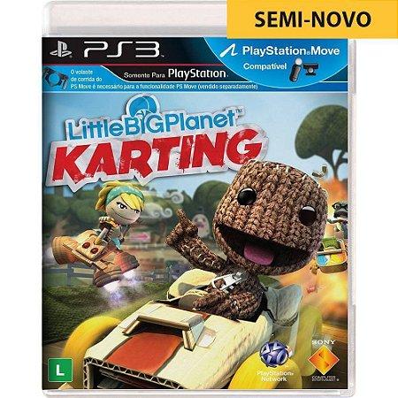 Jogo Little Big Planet Karting - PS3 (Seminovo)
