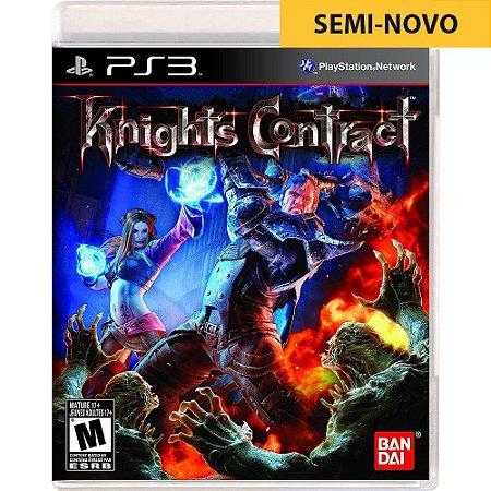 Jogo Knights Contract - PS3 (Seminovo)
