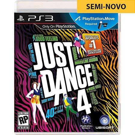 Jogo Just Dance 4 - PS3 (Seminovo)