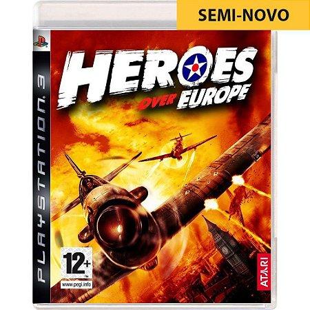 Jogo Heroes Over Europe - PS3 (Seminovo)