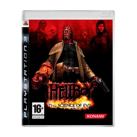 Jogo Hellboy The Science of Evil - PS3