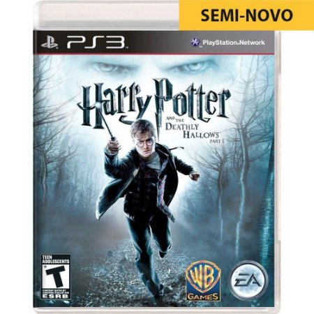 Jogo Harry Potter and The Deathly Hallows Part 1 - PS3 (Seminovo)