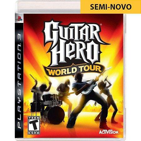 Jogo Guitar Hero World Tour - PS3 (Seminovo)