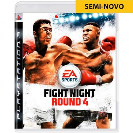 Jogo Fight Night Round 4 - PS3 (Seminovo)