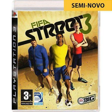 Jogo FIFA Street 3 - PS3 (Seminovo)