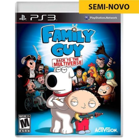Jogo Family Guy Back to The Multiverse - PS3 (Seminovo)