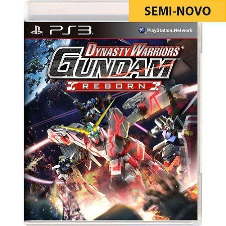 Jogo Dynasty Warriors Gundam - PS3 (Seminovo)