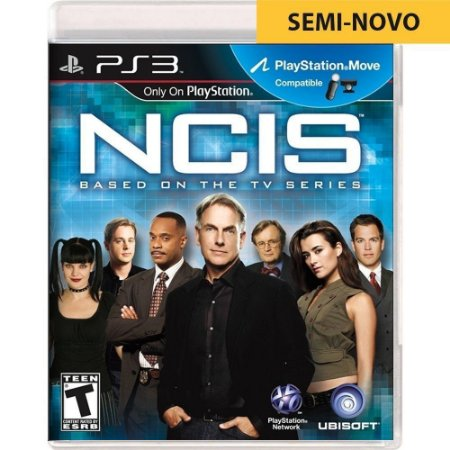 Jogo Ncis Based On The TV Series - PS3 (Seminovo)