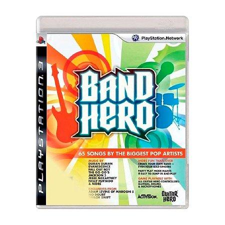 Jogo Band Hero - PS3 (Seminovo)