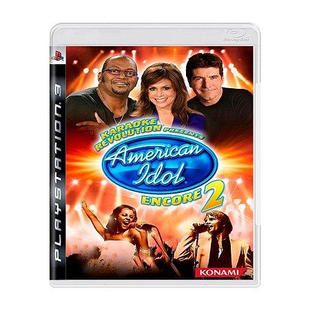Jogo American Idol 2 - PS3 (Seminovo)