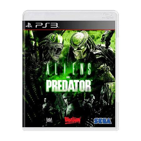 Jogo Aliens Vs Predator - PS3 (Seminovo)