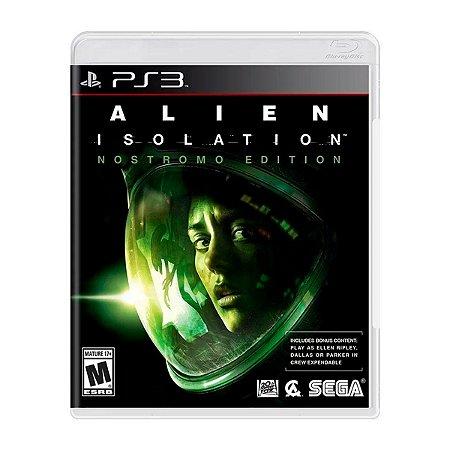 Jogo Alien Isolation - PS3 (Seminovo)
