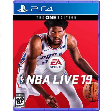 Jogo NBA Live 2019 - PS4 (Seminovo)