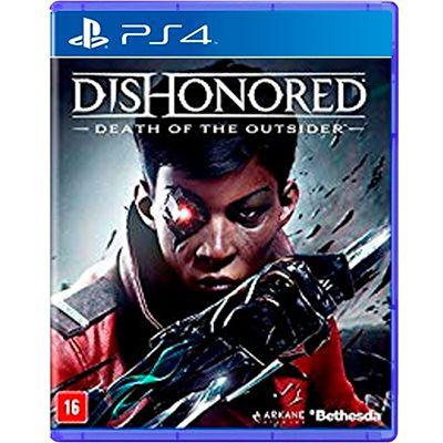 Jogo Dishonored Death of The Outsider - PS4 (Seminovo)