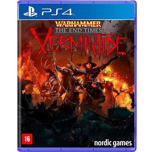 Jogo Warhammer: End Times Vermintide - PS4 (Seminovo)
