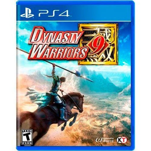 Jogo Dynasty Warriors 9 - PS4 (Seminovo)