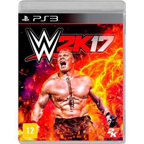 Jogo WWE 2K17 - PS3 (Seminovo)