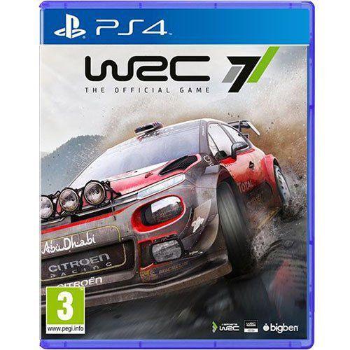 Jogo WRC 7 FIA World Rally Championship - PS4