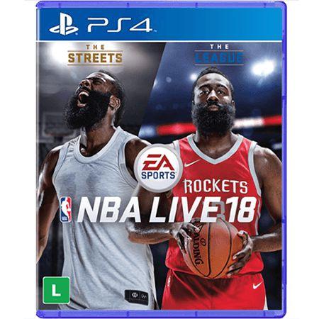 Jogo NBA Live 18 - PS4 (Seminovo)