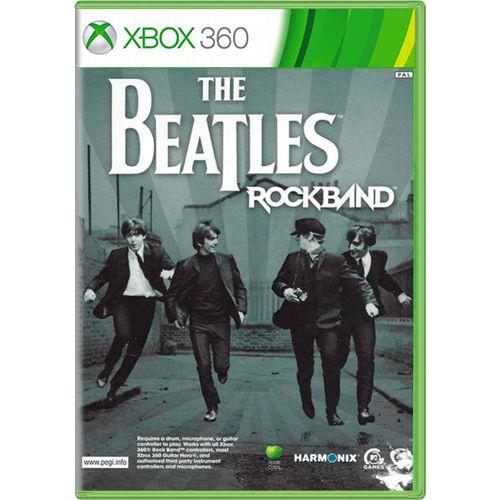 Jogo The Beatles RockBand - Xbox 360 (Seminovo)