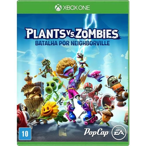 Jogo Plants Vs Zombies Batalha por Neighborville - Xbox One