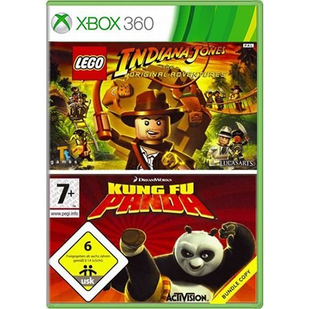 Jogo Pack LEGO Indiana Jones e Kung Fu Panda - Xbox 360 (Seminovo)