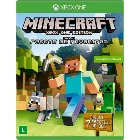 Jogo Minecraft Favorite Pack - Xbox One