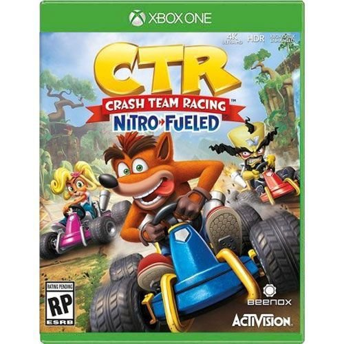 Jogo CTR Crash Team Racing Nitro-Fueled - Xbox One