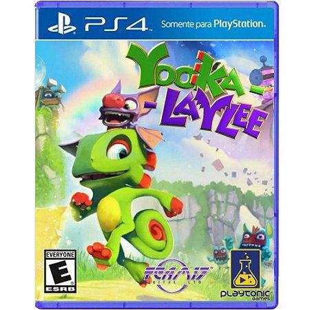 Jogo Yooka Laylee - PS4