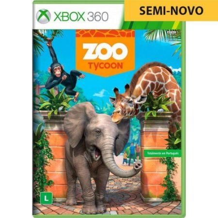 Jogo Zoo Tycoon - Xbox 360 (Seminovo)