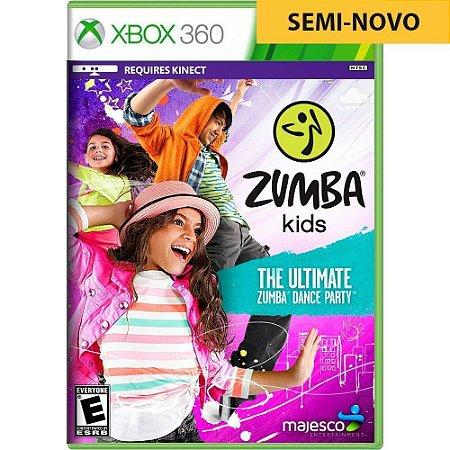 Jogo Zumba Kids - Xbox 360 (Seminovo)