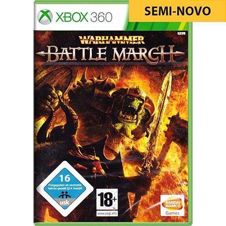 Jogo Warhammer Battle March - Xbox 360 (Seminovo)