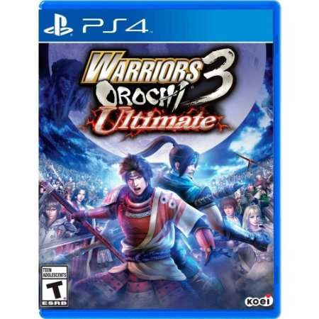 Jogo Warriors Orochi 3 Ultimate - PS4