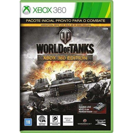 Jogo World of Tanks - Xbox 360 (Seminovo)