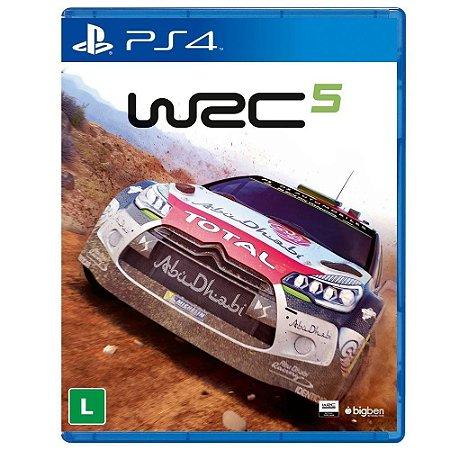 Jogo WRC 5 - PS4