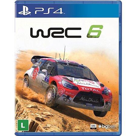 Jogo WRC 6 Fia World Rally Championship - PS4