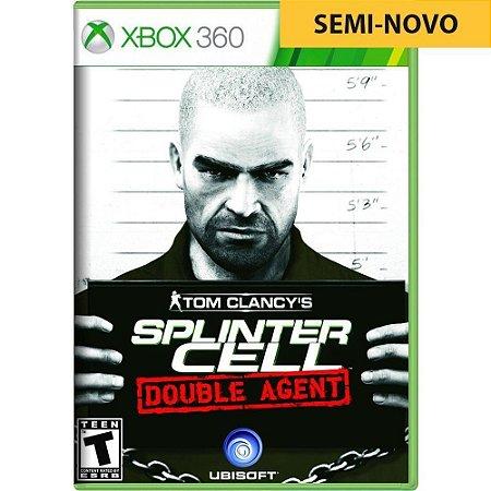 Jogo Tom Clancys Splinter Cell Double Agent - Xbox 360 (Seminovo)