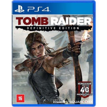 Jogo Tomb Raider Definitive Edition - PS4