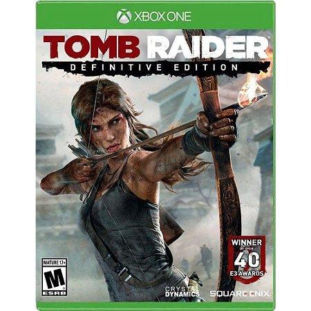 Jogo Tomb Raider Definitive Edition - Xbox One