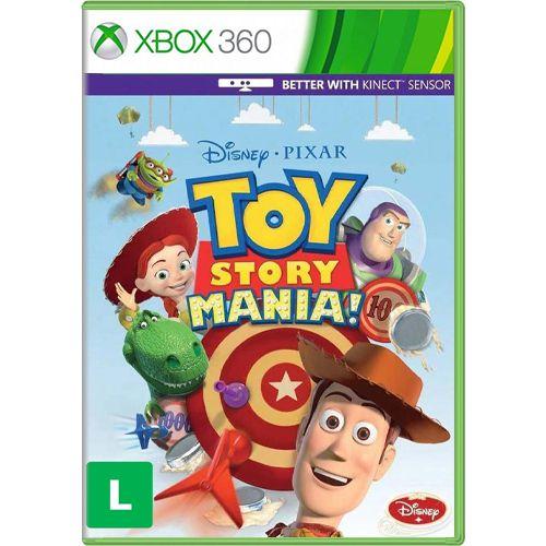 Jogo Toy Story Mania - Xbox 360 (Seminovo)