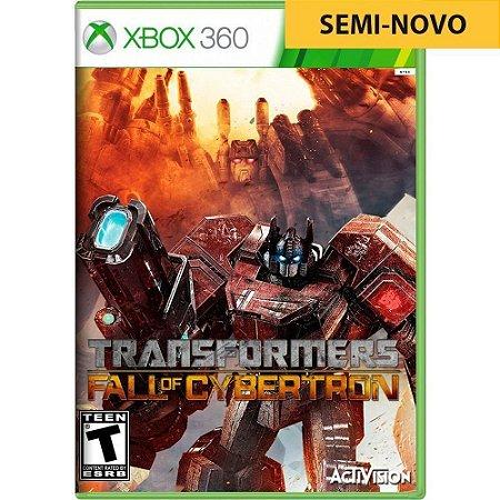 Jogo Transformers Fall of Cybertron - Xbox 360 (Seminovo)