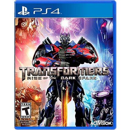 Jogo Transformers Rise Of The Dark Spark - PS4