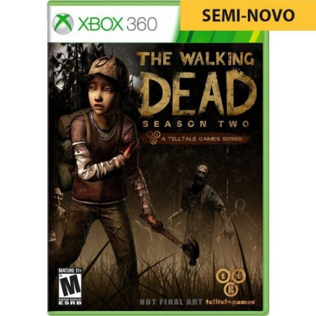 Jogo The Walking Dead Season 2 - Xbox 360 (Seminovo)