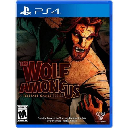 Jogo The Wolf Among Us - PS4
