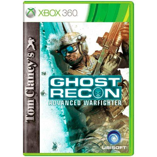 Jogo Tom Clancys Ghost Recon Advanced Warfighter - Xbox 360 (Seminovo)