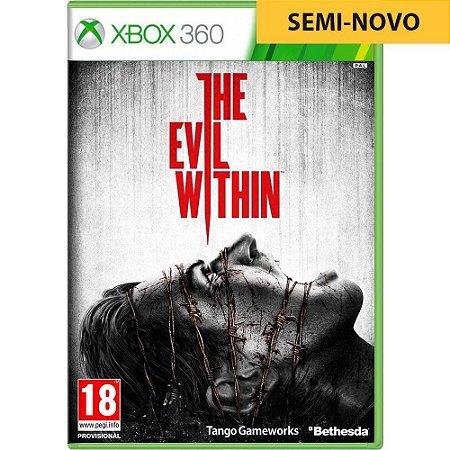 Jogo The Evil Within - Xbox 360 (Seminovo)